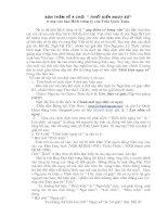 Về 4 chữ: Thiết kiến ngụy sứ trong Hịch tướng sỹ (