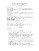 Đề và gợi ý môn Sử (ĐH 2009)