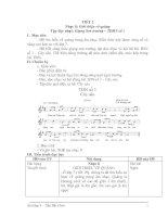 GIAÓ ÁN ÂM NHẠC LỚP 9: TIẾT 2 Nhạc lí: Giới thiệu về quãng Tập đọc nhạc: Giọng Son trưởng – TDDN số 1