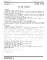 Tài liệu Ôn tập HK 1 - lớp 11 (LT + Bài tập)14.12.08