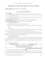 Giáo án sinh 8 chuẩn từ bài 33-64
