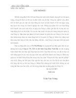GIẢI PHÁP NHẰM HOÀN THIỆN CÔNG TÁC QUẢN TRỊ DOANH NGHIỆP TẠI CÔNG TY VẬN TẢI, XÂY DỰNG VÀ CHẾ BIẾN LƯƠNG THỰC VĨNH HÀ