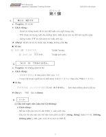 50 bài ngữ pháp tiếng nhật Minna no nihongo đơn giản xúc tích 1 10