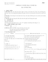 Giáo án Đại số 9 tiết 1 - 11