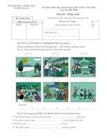 Đề thi học sinh giỏi Anh Văn 9 (3)