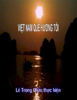 VIET NAM QUE HUONG TOI