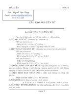 Lý thuyết và BT lớp 10 Hay
