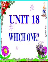 unit 18: which ones?