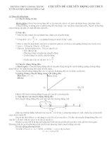 Chuyên đề bồi dưỡng vật lý 8