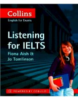 Listening for IELTS (Collins)