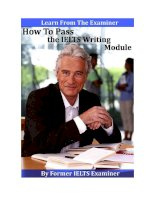 how to pass the ielts writing module