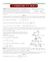 Bài tập điện xoay chiều tổng hợp đầy đủ