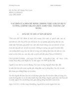 VAI TRÒ CỦA HỒ CHÍ MINH  TRONG VIỆC CHUẨN BỊ TƯ TƯỞNG, CHÍNH TRỊ, TỔ CHỨC CHO VIỆC THÀNH LẬP ĐẢNG