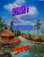 English 6- UNIT 11 A2