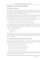 Kỹ thuật sắp xếp (Sorting)
