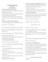 ÔN THI TRẮC NGHIỆM LỚP 12 THEO CHỦ ĐỀ