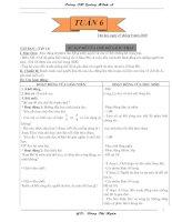 Giáo án lớp 5- Tuần 6 CKTKN ( Có buổi chiều)