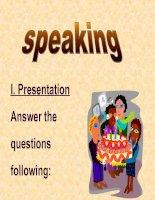 Unit 3 Speaking English 11 cb