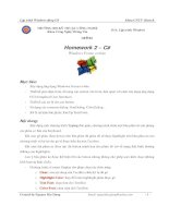 Homework 2 – C# Windows Forms cơ bản