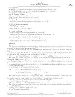 Bài tập tự luận phương trình sóng