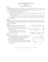ĐỀ THI HSG VẬT LÍ 9 (Đề 01)