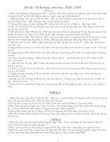 Dề thi Violym pic Lớp 4 Từ vòng 4- vòng 25