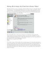 Hướng dẫn tạo Banner với phần mềm: Aleo Flash Intro Banner Maker