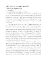 CƠ SỞ LÝ LUẬN VỀ HIỆU QUẢ SẢN XUẤT KINH DOANH