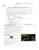 Giáo án : Tin học 4 ( HK 1  )