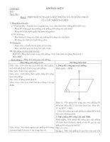 Bài 2 - Phép Đối Xứng Qua Mặt Phẳng Và Sự Bằng Nhau Của Các Khối Đa Diện.