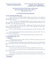 KẾ HOẠCH BỒI DƯỠNG HỌC SINH GIỎI VÀ PHỤ ĐẠO HỌC SINH YẾU LỚP 5 NGOAN 2010 - 2011 HAY TUYỆT VỜI