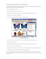 Biên tập định dạng PDF với Foxit PDF Editor