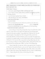 THỰC TRẠNG ĐẦU TƯ PHÁT TRIỂN TẠI CÔNG TY CỔ PHẦN SẢN XUẤT BAO BÌ C