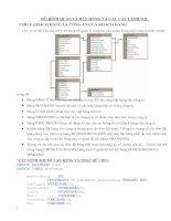 Bai tap ve SQL server (co giai chi tiet)