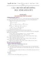 CHUYÊN ĐỀ BDHSG TOÁN 4-5(PHẦN I)