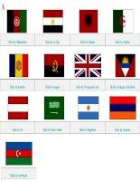 Quốc kỳ các nước trên Thế giới phần 1