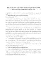 NHỮNG VẤN ĐỀ LÝ LUẬN CHUNG VỀ TỔ CHỨC CÔNG TÁC KẾ TOÁN NGUYÊN VẬT LIỆU Ở DOANH NGHIỆP SẢN XUẤT