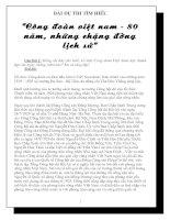 Bài dự thi tìm hiểu Công Đoàn Việt Nam