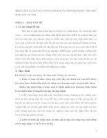 SKKN: RÈN LUYỆN KỸ NĂNG GIẢI BÀI TẬP MÔN HOÁ HỌC CHO HỌC SINH LỚP 10 THPT