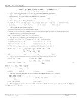 Bài tập aminoaxit- mới