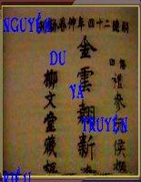 tiet 26. truyện kieu của nguyễn Du