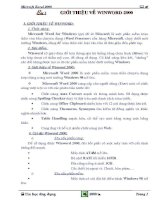 Giáo trình Excel Tin học A