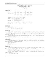 Đề thi HSG toán 7 hay