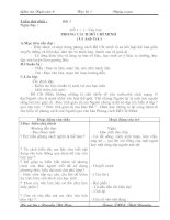 Giáo án Ngữ văn 9 ( kì 1) Chuẩn