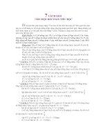 7 cach giai mot bai toan
