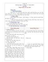 Giáo án 5 Tuần 16