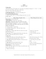 Giáo án lớp 2-Tuần 11,12,13,14