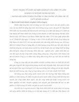 THỰC TRẠNG TỔ CHỨC BỘ MÁY QUẢN LÝ CỦA CÔNG TY LIÊN DOANH CƠ KHÍ XÂY DỰNG HÀ NỘI
