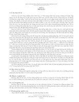 SKKN - Một số phương pháp giải pt vô tỉ