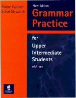 259 grammar practice for upper intermediate students
